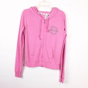 Victoria Secret Love Pink Jacket Size Small